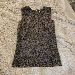 Cute black and white Michael Kors tank size XS